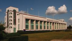 The Hoover Building on Western Avenue in Perivale, West London