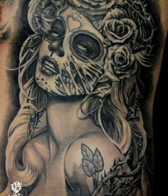 Day of the Dead Pin Up Tattoo – Steve Soto