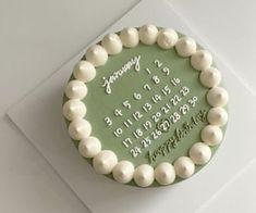Pretty Birthday Cakes, Pretty Cakes, Simple Cake Designs, Korean Cake, Pastel Cakes, Pinterest Cake, Cute Desserts, Just Cakes, Cake Decorating Techniques