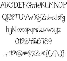 Janda Quirkygirl font by Kimberly Geswein - FontSpace ~ whimsical font (free)