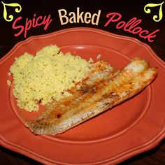 EmilyCanBake: Spicy Baked Pollock