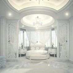 Dream Bedroom Design Ideas For Luxury House Dream Rooms, Dream Bedroom, Home Bedroom, Bedroom Decor, Royal Bedroom, Bedroom Ideas, Fancy Bedroom, Lux Bedroom, Mansion Bedroom