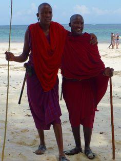 Masai on Diani Beach - Ukunda