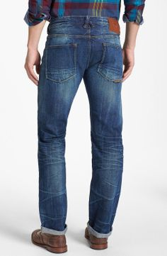 Natural Selection Denim Straight Leg Selvedge Jeans (Broken) on Wantering   Men's Jeans   mens dark wash denim straight leg jeans #mensjeans #mensdarkwashjeans #menswear #mensstyle #mensfashion #wantering http://www.wantering.com/mens-clothing-item/natural-selection-denim-straight-leg-selvedge-jeans-broken/afe9J/