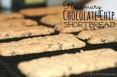 Rosemary Chocolate Chip Shortbread | Faithful Provisions