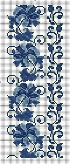 Easiest Crochet Frills Border Ever! Cross Stitch Borders, Crochet Borders, Cross Stitch Flowers, Filet Crochet, Cross Stitch Designs, Cross Stitching, Cross Stitch Embroidery, Cross Stitch Patterns, Embroidery Designs