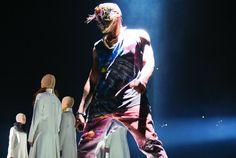 YEEZUS TOUR ATTIRE Kanye West x Maison Martin Margiela