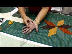 Patchwork Sem Segredos: Aula 16: Régua para Estrela de 8 pontas - YouTube