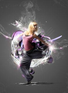 25 Creativos efectos sparkling y manipulación de imágenes en Photoshop #inspiration #photoshop