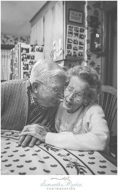Old love = stay married = true love = old couple!