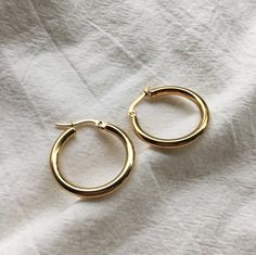REI Hoops in Gold