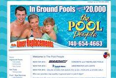 """Over the past 30 years, many in-ground pool installers have come and gone from Central Ohio. One of a very select few have remained - """"The Pool People"""". Our commitment to high quality construction techniques and service after the sale is the reason why. In fact, our installation process is so refined that we can install most pools in just 5 days.  Designed by: WebChick.com"""