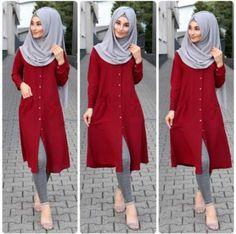 New fashion hijab outfits casual muslim. Source by amqidwi outfits hijab Modern Hijab Fashion, Muslim Women Fashion, Hijab Fashion Inspiration, Abaya Fashion, Mode Inspiration, Modest Fashion, Stylish Hijab, Hijab Casual, Outfits Casual