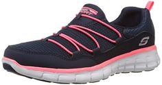 Skechers Women's Loving Life Memory Foam Fashion Sneaker Quality Shoes on SALE ! Mens Fashion Shoes, Sneakers Fashion, Fashion Heels, Fashion Women, Fashion Jewelry, Baskets, Sneakers Mode, Trail Shoes, Shopping
