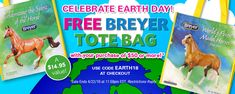 Breyer horses earth day free tote