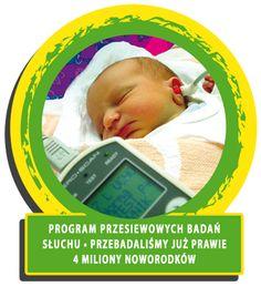 Przebadaliśmy już 4 011 531  dzieci! To absolutny rekord świata! Dzięki całorocznemu programowi Powszechnych Przesiewowych Badań Słuchu badamy prawie wszystkie noworodki w kraju! Oznacza to, że od 2002 r., kiedy rozpoczęliśmy nasze działania, badamy niemalże 100% maluchów.