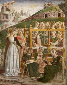 Women of the Urban Working Class; The medieval countryside held almost all of the medieval population, but left very few records outside of court documents.