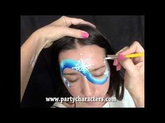 Frozen Face Painting Tutorial - YouTube