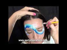 Frozen Face Painting Tutorial