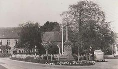 Queen Square, North Curry, Somerset, England. Some of my ancestors were from North Curry - if you're researching the Denman, Broom or Baskett families, do get in touch! esjones <at> btopenworld.com