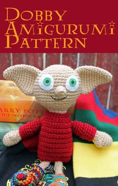 ***This pattern is a PDF file and will be available to download directly through Etsy after purchase. No waiting!***    Dobby has no master, Dobby