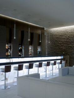 L'anima Restaurant – Claudio Silvestrin Architects Modern Restaurant, Restaurant Design, Restaurant Bar, Lobby Bar, Hotel Lobby, Wine Tasting Room, Interior Architecture, Interior Design, Bakery Design