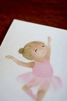 Dance your heart out...Little Ballerina by SweetCheeksImages