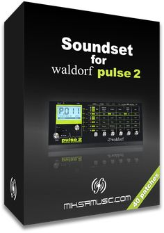 Box of Soundset for Waldorf Pulse 2 synthesizer - by miksamusic.com