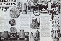 art marajoara - Brazil  by Fernando Correia Dias, o ilustre marido de Cecília Meireles...