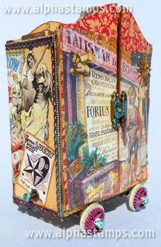 www.AlphaStamps.com Gallery - Gypsy Caravan by Shannon Tuttle