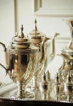 We pride ourselves on our lovely silver services and our delicate china.  Nothing but the best at the Southern Comfort.