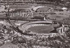 Melbourne Cricket Ground. Melbourne, Australia, 1956.