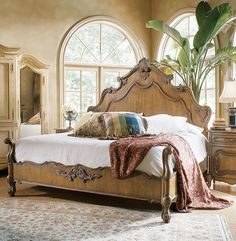 Century Furniture - Infinite Possibilities. Unlimited  Attention.® My new bedroom set!  Love!!!