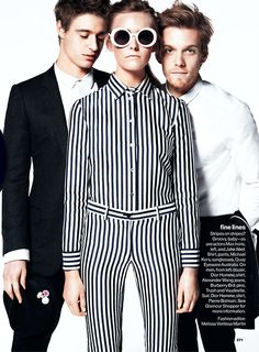 Jake Abel and Max Irons for Glamour