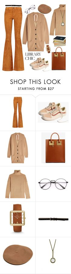 """Study Session: Library Chic~"" by dianefantasy ❤ liked on Polyvore featuring Alice + Olivia, Madewell, N°21, Sophie Hulme, The Kooples, FOSSIL, Zara Taylor, polyvorecommunity, polyvoreeditorial and librarychic"