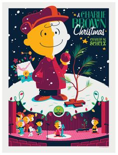 retro colors! Charlie Brown