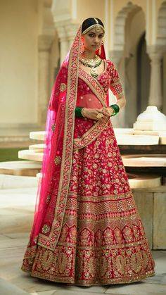 Are you Looking for Buy Indian Lehenga Choli Online Shopping ? We have Largest & latest Collection of Designer Indian Lehenga Choli which is available now at Best Discounted Prices. Pink Bridal Lehenga, Designer Bridal Lehenga, Indian Bridal Lehenga, Indian Bridal Outfits, Indian Bridal Wear, Indian Dresses, Sabyasachi Lehenga Bridal, Lehanga Bridal, Wedding Lehenga Designs