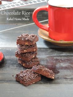 CHOCOLATE RICE BISCUITS