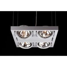 Linea Verdace - Hanglamp LED Cool Incl.4Xar111 50W - 12V Wit