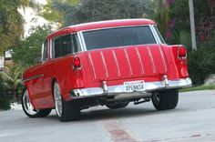 1955 Chevy Nomad Rear