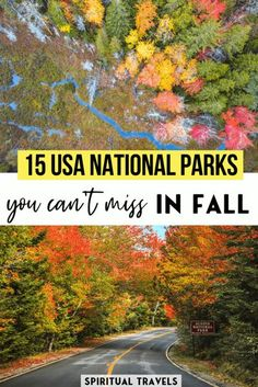 America is filled with awe-inspiring national parks. Find out the best America national parks to visit in fall, written by a group of USA travel experts! #USA #nationalparks national parks in america | autumn foliage | places to visit in america | USA things to do | USA places to visit | grand canyon | yellowstone | glacier national park | smoky mountains | yosemite
