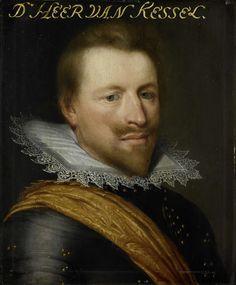 Workshop of Jan Anthonisz van Ravesteyn, Portrait of Willem Adriaen (?-1625), graaf van Hornes, heer van Kessel en Westwezel,  ca. 1616-1633 - Rijksmuseum Amsterdam (SK-A-561)