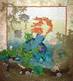 Mermaids Dream - And Shelli Ricci's Quilts Sing | Mermaid quilt ... : mermaid quilts - Adamdwight.com