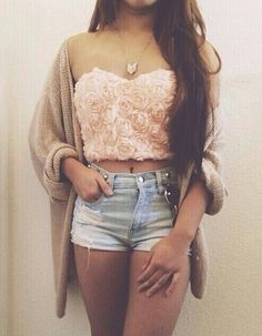 ooh! pretty rose top!
