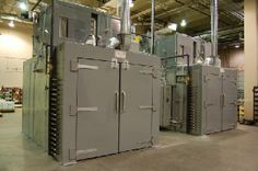Industrial Curing Ovens with a Variety of Options