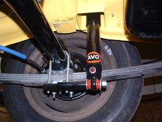 Rear suspension.  All new and uprated