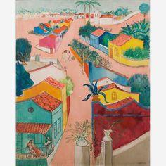 Obra de Cícero Dias no leilão 28 de Junho de 2012 da Bolsa de Arte Impressionism, Art Museum, Junho, Masters, Artist, Painting, Art Auction, Light Fixture, Sketches