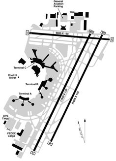 Newark Liberty International Airport Map