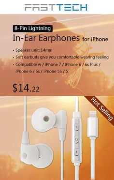 You can getIn-Ear Earphones for iPhone at just $14.22. only FastTech store.  For more FastTech Coupon Codes visit: http://www.couponcutcode.com/stores/fasttech_coupon_codes/