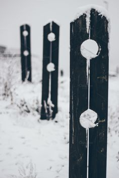 Check out Snow fence 2 by Pixelglow Images on Creative Market